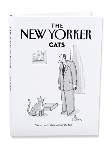 The New Yorker Cat Cartoons Notecard Wallet Pack of 10 Cards (NYNW05) by The New Yorker