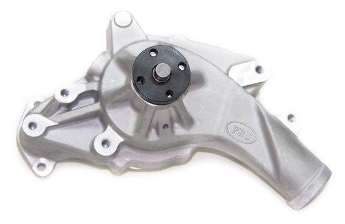 PRW 1439000 Performance Quotient As-Cast 5/8 Pilot Shaft High Flow Aluminum Water Pump for Ford 352-428 FE