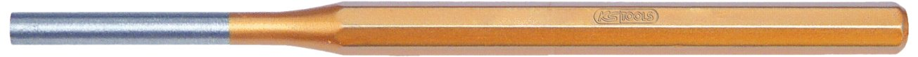 KS Tools 162.0406 Punzón, Extra Largo, 8 Cantos (Ø 8 mm), 8mm 8 Cantos (Ø 8 mm) 4042146297315