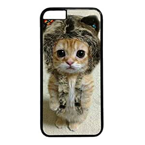 """Cute Kitten 002 Hard Shell with Black Edges Cover Case for Iphone 6(4.7"""") by ruishername"""