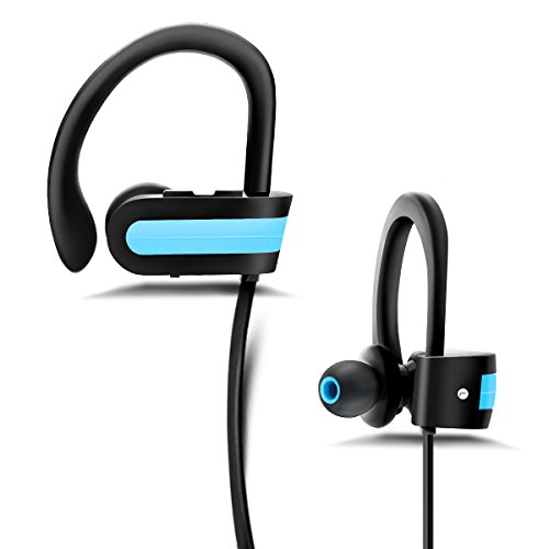 Bluetooth Headphones Wireless Earphones Neckband In Ear Earbuds with Mic Stereo Noise Cancelling Sweatproof Headsets