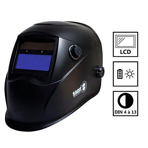 Sturmhaube Löten SACIT P850LCD 4/13+ 47254–Batterien und Solar