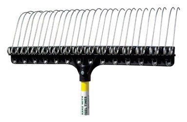 Groundskeeper Ii Lawn Rake Steel Tines 7 Tine 55 '' by GROUNDSKEEPER II