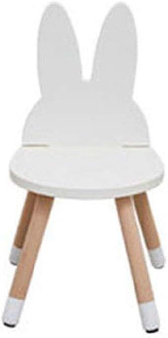 ZH Table et Chaise de Dessin Animé en Bois pour Enfants