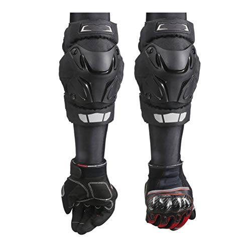 - I Need-You Motorcycle Knee Pads Guards Elbow Racing Off-Road Protective Kneepad Motocross Brace Protector Motorbike Protection,E01-Black,Free Size