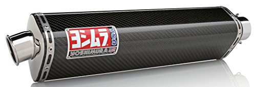 02-03 YAMAHA YZF-R1: Yoshimura TRS Bolt-On Exhaust (Street/Stainless Steel/Carbon Fiber/Stainless Steel)