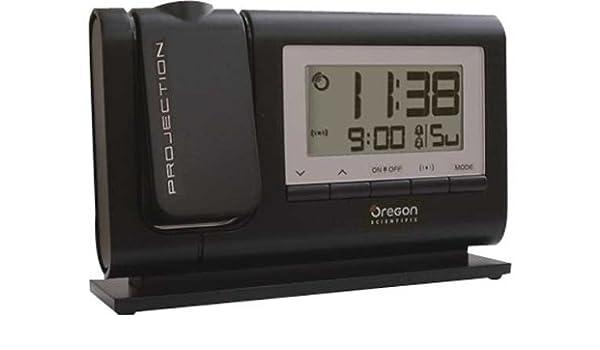 Oregon Scientific clásica proyector-despertador.: Amazon.es ...