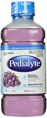 Pedialyte Оральный раствор электролита, виноград, 1-литровый, 8 граф