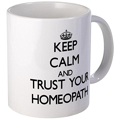 CafePress Keep Calm And Trust Your Homeopath Mugs Unique Coffee Mug, Coffee Cup