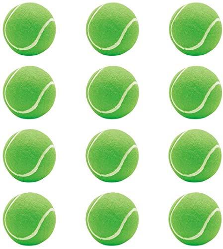 S.stock Rubber Tennis Ball, Size Standard  Green