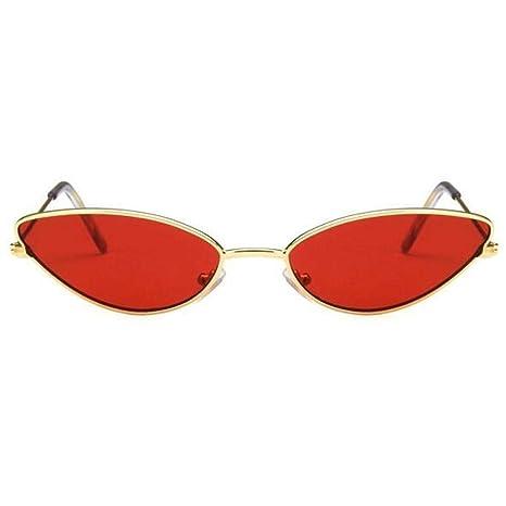 ZRTYJ Gafas de Sol Gafas de Sol Mujer Ojo de Gato Diseño de Marco ...