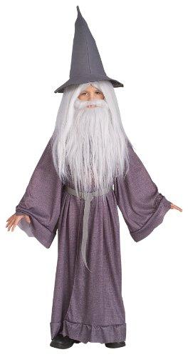 [Gandalf the Grey Costume - Medium] (Frodo Costume For Kids)