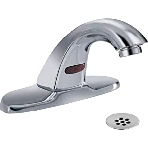Delta Faucet 591lf Hgmhdf Electronics Battery Electronic Faucet Vr 0 5gpm Grid Strainer