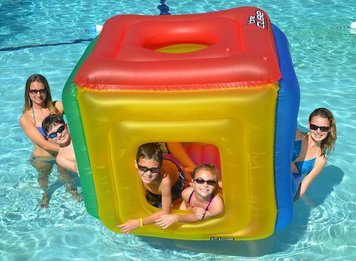 The Cube Floating Habitat Water Float Toy for Swimming Pool & -