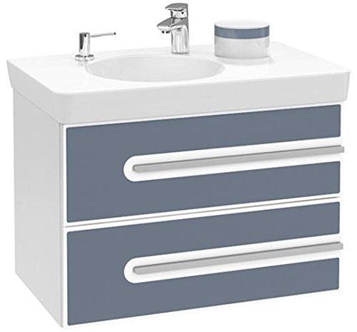 Villeroy + Boch Waschtischunterschrank Joyce B86300 762x535x463 Glossy White/Bali, B86300MK