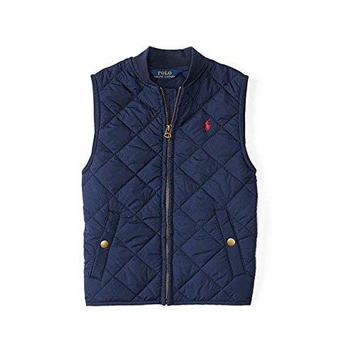 Polo Ralph Lauren Little Boy's Quilted Vest, Size 6, Navy