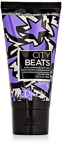 Redken City Beats By Shades EQ Hair Color for Unisex, East Village Violet, 2.87 Ounce ()