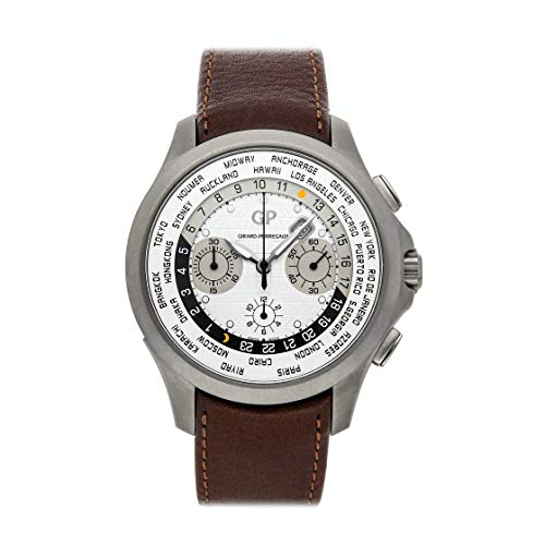 Girard-Perregaux-WWTC-MechanicalAutomatic-Silver-Dial-Watch-49700-21-132-HBBB-Pre-Owned