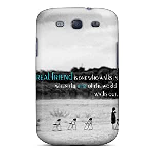 Unique Design Galaxy S3 Durable Tpu Case Cover Friendship