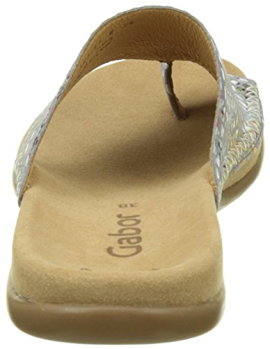Gabor Shoes Fashion, Mules Para Mujer Gris (stone 49)