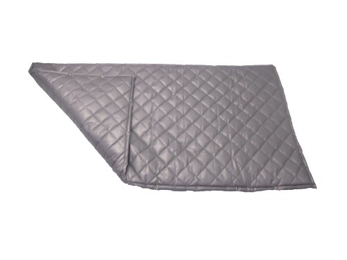 Singer Safety SC124 Double Faced Quilted Fiberglass Panel with Grommets, 4' Width x 4' Height x 2' Thick