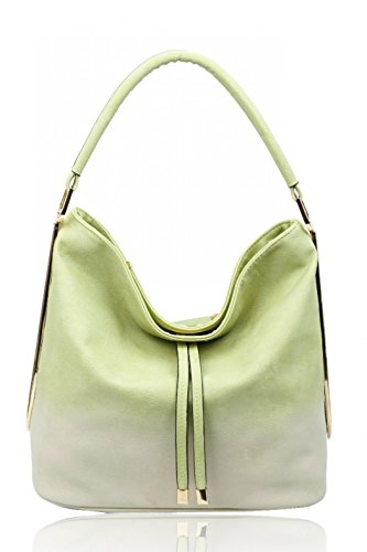 Women's Clearance Cw931 Green Bag Tote Sale Body Shoulder Leahward Bags Cross Brook Leather Faux Large Hobo Handbags wHxqd1