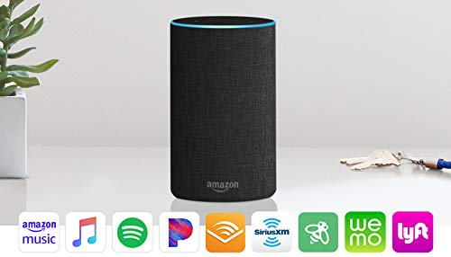 Large Product Image of Echo (2nd Generation) - Smart speaker with Alexa - Charcoal Fabric