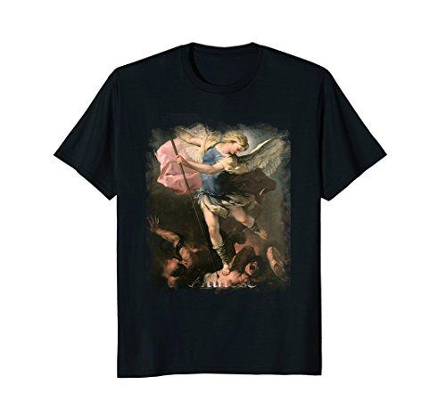 St Michael the Archangel Saints & Angels Catholic T-Shirt ()