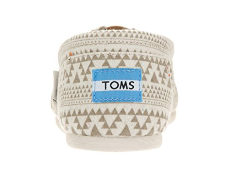 Toms Womens Classic Casual Shoe Natural Tribal Printed Wool bYvlPz
