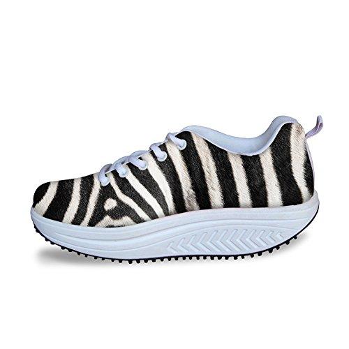 Luipaard Fitness Wandelschoenen Comfortabel Wedge Sneaker Dames Outdoor Travel Schoen Patroon 2