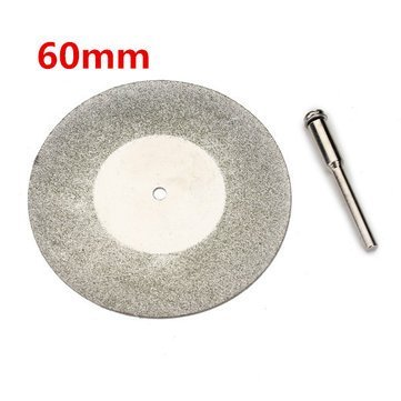 60mm Diamond Grinding Wheel Metal Cutting Disc For Dremel Rotary Tool With 1 Arbor - Arbor Shop