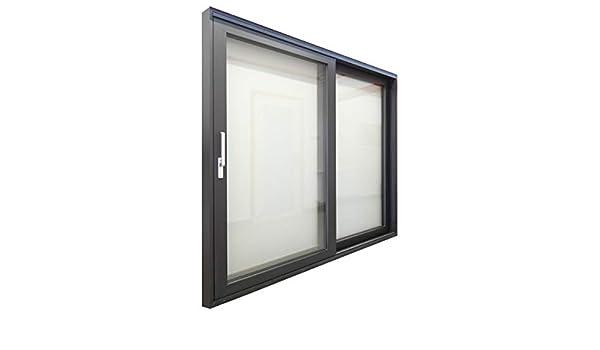 Puerta de balcón HST de aluminio, puerta corredera HST, 2200 x 2100 mm, acristalamiento térmico de 2 capas, color antracita: Amazon.es: Bricolaje y herramientas