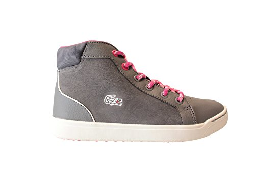 Lacoste - Mode / Loisirs - explorateur mid 316 2 cac dk gry lth/syn