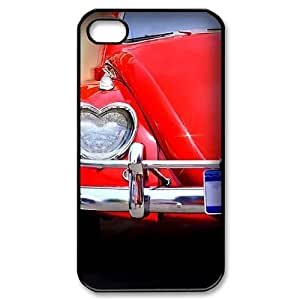 Red CUSTOM Cell Phone Case for iPhone 4,4S LMc-75629 at LaiMc