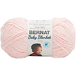 Bernat Baby Blanket Tiny Yarn, Hush Pink
