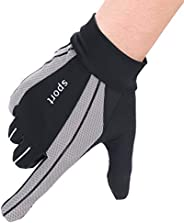 ITODA Mesh Driving Gloves for Summer Men Anti-UV Protection Sunscreen Touchscreen Cooling Breathable Gloves Cy