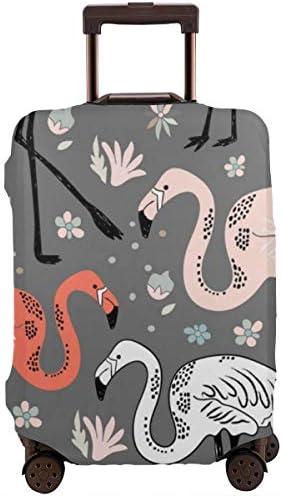 荷物カバー スーツケースカバー トランクカバー ラゲッジカバー 防塵カバー 花柄 動物柄 キャリーケースカバー 保護伸縮素材 アウトドア 通勤 通学 超軽量 4サイズ 旅行 出張 耐久性 汚れ 傷 防止 盗難防止 おしゃれ 可愛い