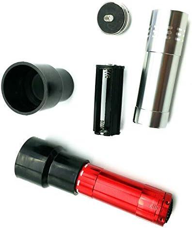 Black BE-TOOL Egg Incubators Tester Lamp,1PC Battery Operated Bright Cool LED Light Egg Candler Tester