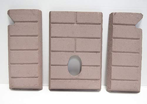 Whitfield Advantage II-T, III Premium Sandstone FIRE-TEK Firebrick for Pellet ()