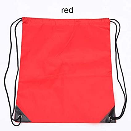 School Sport Bag Gym Swim Dance Shoes Backpack Bundle Custom Nylon Drawstring Bag Rope Backpack Custom Bags Shoulder Bag Storage Bags Home & Garden