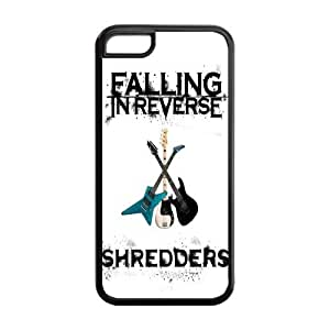 FEEL.Q- Unique Custom TPU Rubber iPhone 5s for you Case Cover - Falling In Reverse