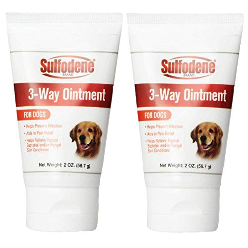 (Sulfodene 3-Way Ointment for Dogs 2-Pack (Small 2 Pack))