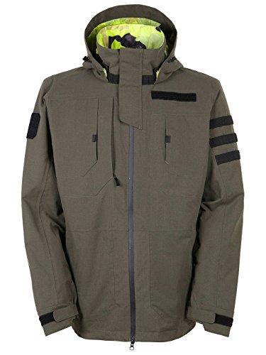 M16 Jacket (686 Men's M16 Taclite Jacket Dark Army Outerwear)