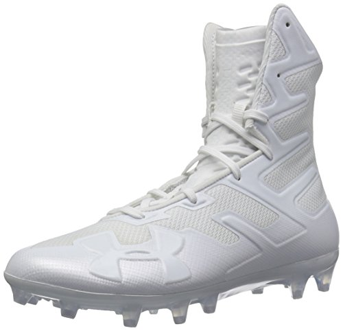 Under Armour Men's Highlight MC Football Shoe, (100)/White, 12