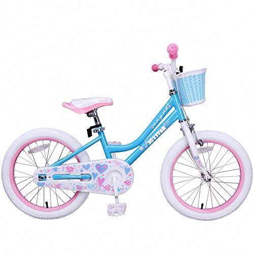 JOYSTAR Girls Bike with Training Wheels for 14