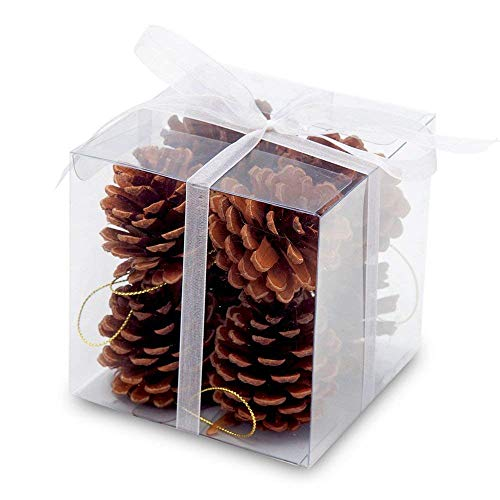 Pine Cone Christmas Tree Ornaments (Comix Christmas Tree Hanging Ornaments Decorations Xmas Trees Ornament, Wedding Party Home Decors (Pine Cone, 2.2''-)