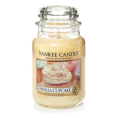 Yankee Candle Vanilla Cupcake Large Jar Candle, Food & Spice Scent