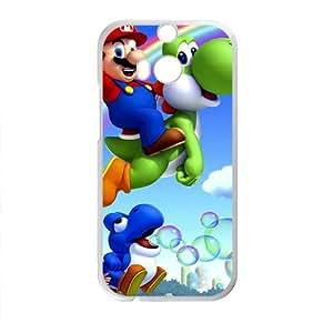 DAZHAHUI Cartoon Super Mario Cell Phone Case for HTC One M8