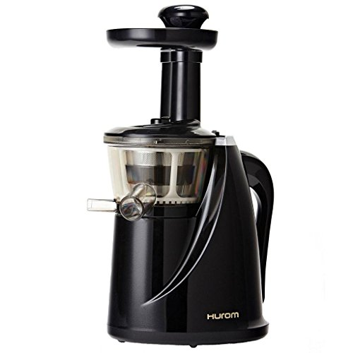 Hurom HU-100 Masticating Slow Juicer, Black by Hurom