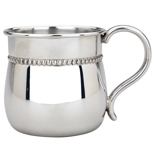 sterling silver baby cup - 7
